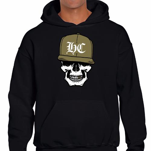 Sudadera capucha - HC Skull