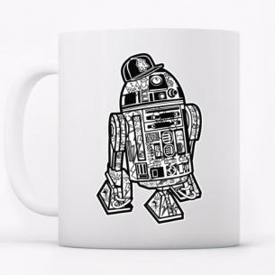 R2-D2 Robot Gansta