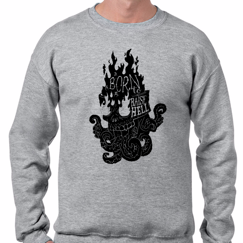Sudadera - Born to raise hell
