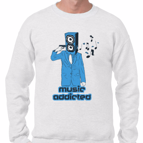 Sudadera - Music Addicted
