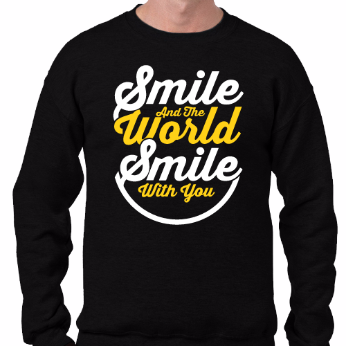 The world smile with you
