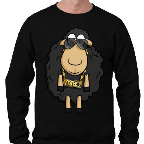 Rebel Sheep - Sudadera sin Capucha