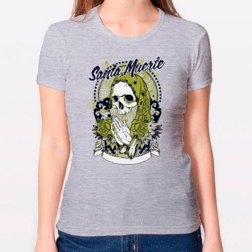 Camiseta chica - Santa Muerte