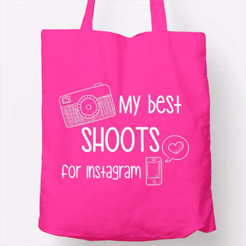 bolso rosa 'my best shoots for instagram'