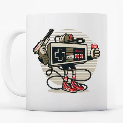 Retro Nintendo Gansta
