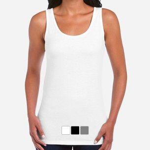 Camiseta de tirantes personalizada chica
