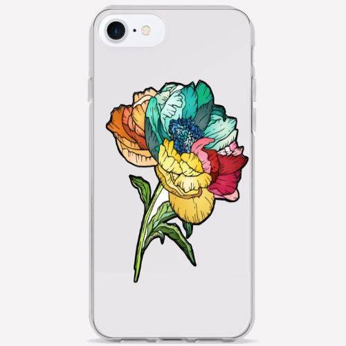 Funda flor colorin