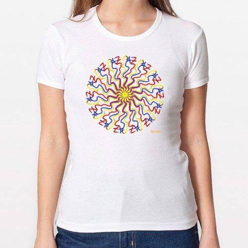 Escribo Paz (Camiseta Dama)