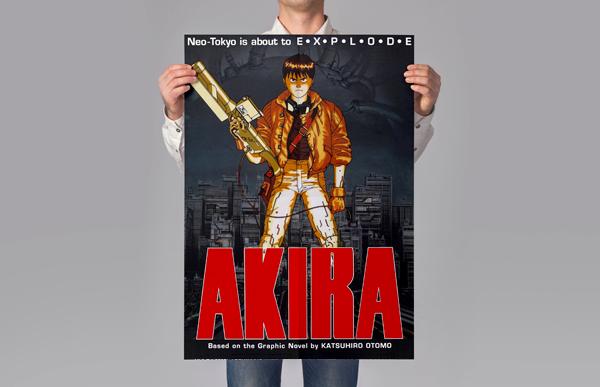 Poster juvenil personalizado